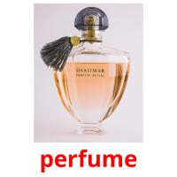 perfume picture flashcards
