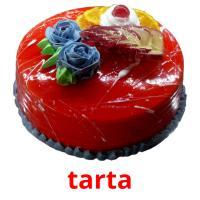 tarta picture flashcards