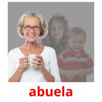 abuela picture flashcards