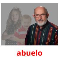 abuelo picture flashcards