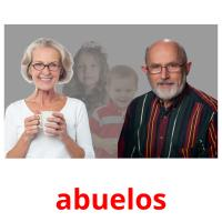 abuelos picture flashcards
