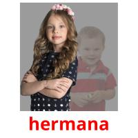 hermana picture flashcards