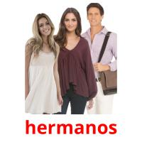 hermanos picture flashcards