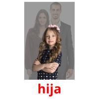 hija picture flashcards