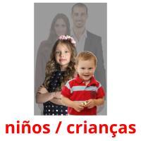 niños picture flashcards