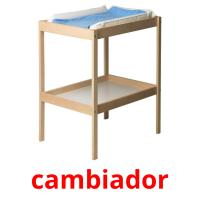 cambiador picture flashcards
