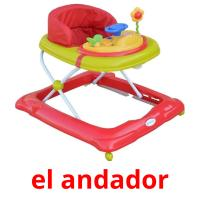 el andador picture flashcards