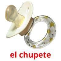 el chupete picture flashcards