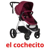 el cochecito picture flashcards