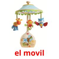el movil picture flashcards