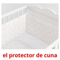 el protector de cuna picture flashcards