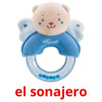 el sonajero picture flashcards