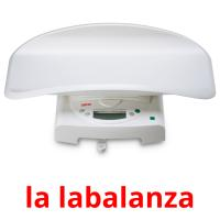 la labalanza picture flashcards