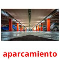 aparcamiento picture flashcards