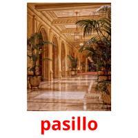 pasillo picture flashcards
