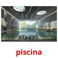 piscina picture flashcards