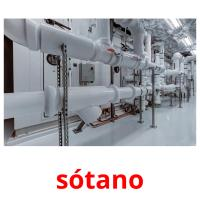sótano picture flashcards
