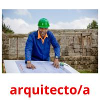 arquitecto/a picture flashcards