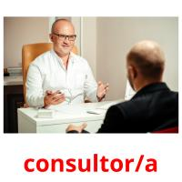 consultor/a picture flashcards