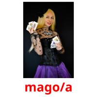 mago/a picture flashcards