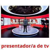 presentador/a de tv picture flashcards