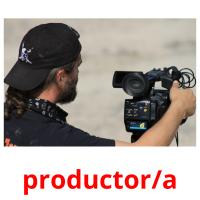 productor/a picture flashcards