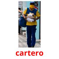 cartero picture flashcards