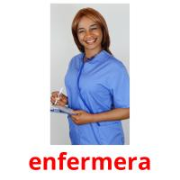enfermera picture flashcards
