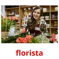 florista picture flashcards