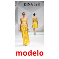 modelo picture flashcards