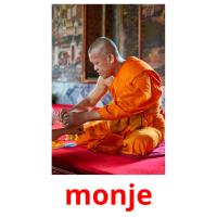 monje picture flashcards