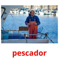 pescador picture flashcards