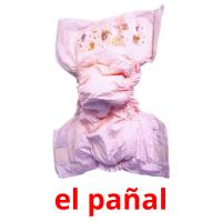 el pañal picture flashcards
