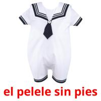 el pelele sin pies picture flashcards