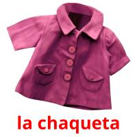 la chaqueta picture flashcards