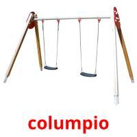 columpio picture flashcards
