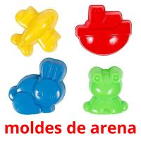 moldes de arena picture flashcards