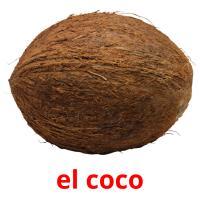 el coco picture flashcards