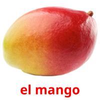 el mango picture flashcards