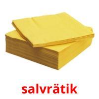 salvrätik picture flashcards