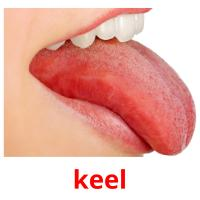 keel picture flashcards