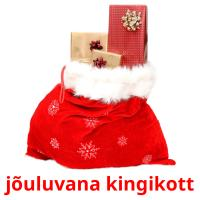 jõuluvana kingikott picture flashcards