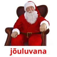 jõuluvana picture flashcards