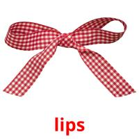 lips picture flashcards