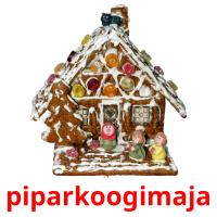 piparkoogimaja picture flashcards