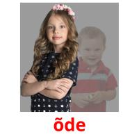 õde picture flashcards