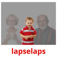 lapselaps picture flashcards