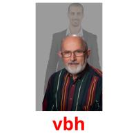 vbh picture flashcards