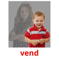 vend picture flashcards