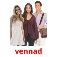 vennad picture flashcards